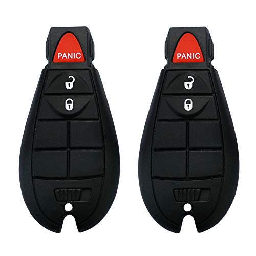 SaverRemotes 3 Button Key Fob Compatible for 2013-2018 Dodge Ram 1500 2500 3500 Keyless Entry Remote Replacement for GQ4-53T