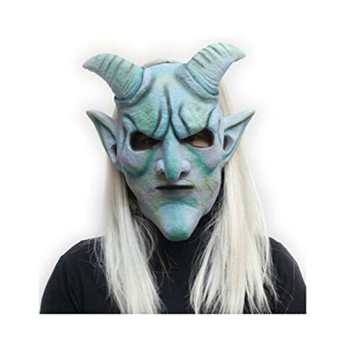 HUOQILIN Halloween Masker Terrorist Hoofddeksels Ghost Enge Duivel Dood Latex Clown Masker