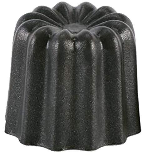 Générique Cannelé bordelais Aluminium revêtu Anti-adhésif - Diamètre 45 mm