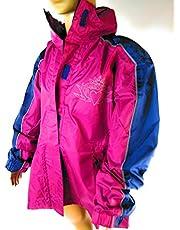 Crivit Outdoor dziewczęca kurtka przeciwdeszczowa, kurtka outdoorowa liliowa rozm. 122/128