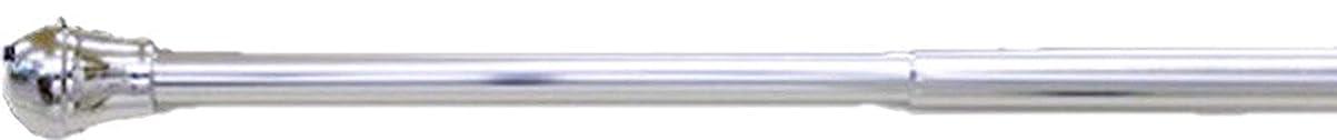 のために毎日維持する錆びに強いアルミ製つっぱり棒 アルミテンションポール カラー:アルミシルバー サイズ:L(120cm~200cm) 耐過重:約2kg