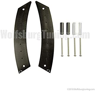 New Beetle Door Handle Panel Repair Metal 1998-2010 Black