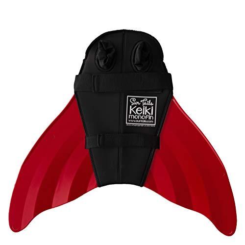 Keiki Monofin (Child Size), Red