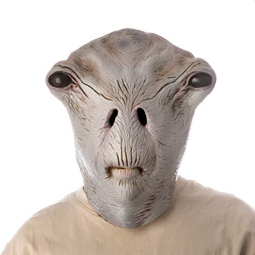 PartyHop Alien Maske Gruselige Latex Realistische Kopfmasken Kostüm für Halloween Party Carnival Parade