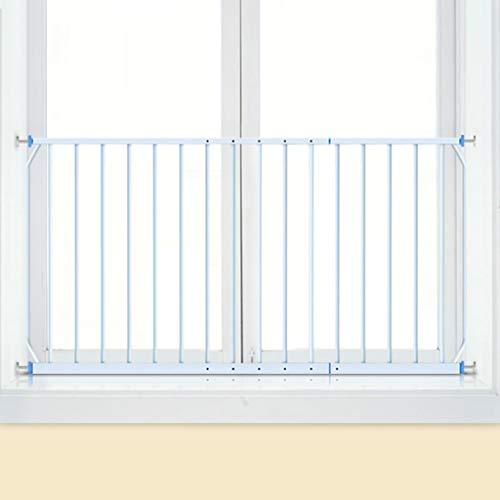 Barrière de sécurité Gardes De Fenêtre De Sécurité d'enfants De Garde De Fenêtre Montés par Pression Intérieurs, Blancs, en Métal, Ajustent 85-335cm (Taille : Length 100-165cm)