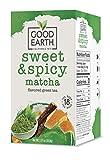 Good Earth Green Tea, Sweet and Spicy, Matcha...