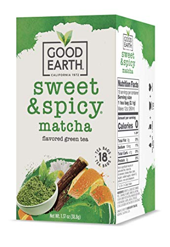Good Earth Green Tea Bags