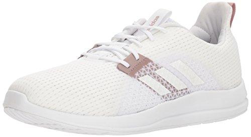 adidas Women's Element V Running Shoe, White Tint, 11 M US