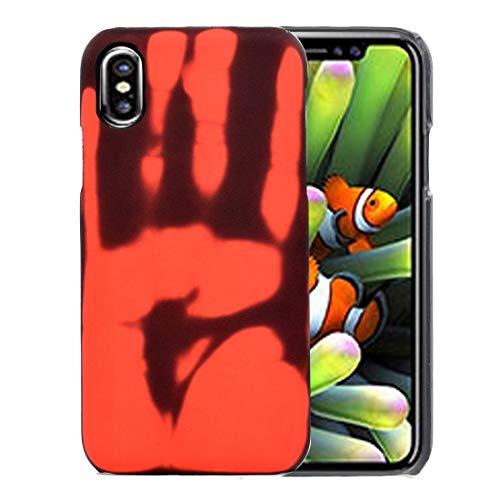 YEEWEN 2019 Funda Protectora Compatible con iPhone X/XS, TPU de decoloración del Sensor térmico, Delgado, liviano, a Prueba de Golpes, Resistente a los arañazos (Size : Ip9g0003r)