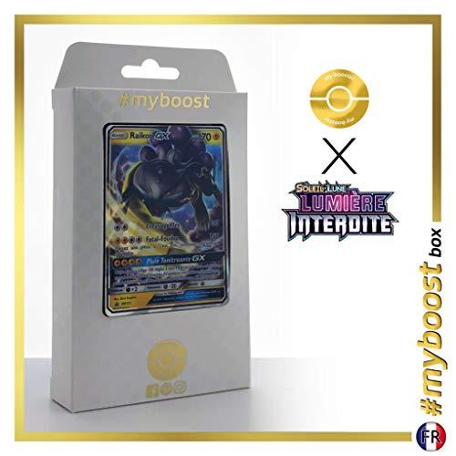 Raikou-GX SM121 - #myboost X Soleil & Lune 6 Lumière Interdite - Coffret de 10 Cartes Pokémon Françaises
