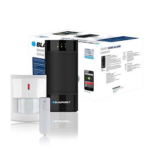 Blaupunkt Serie Q - Kit Alarma Inteligente IP. Incluye Cámara de verificacion, sensor de movimiento, entre otros. SIN CUOTAS MENSUALES, APP gratis, 100% inalámbrica, fácil de instalar (Q3000)