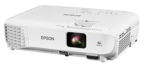 Epson Home Cinema 660 3, 300 Lumens Color Brightness (Color Light Output) 3, 300 Lumens White Brightness (White Light Output) HDMI 3LCD Projector (Renewed)