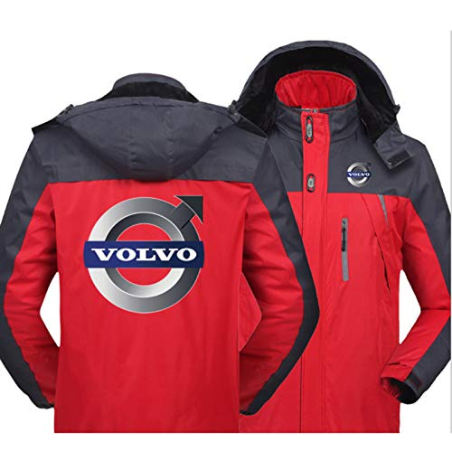 Volvo Hooded Coat Lightweight With Zipped Pockets