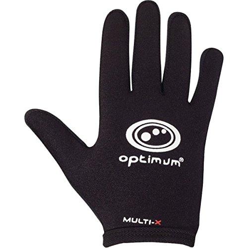 OPTIMUM Vollhandschuhe Unisex Multi X, Herren, Multi X, schwarz, S