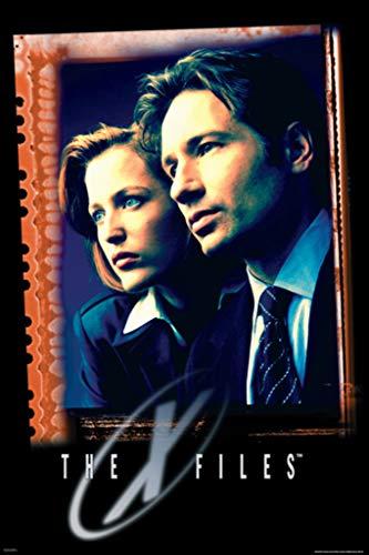 Pyramid America X Files Agents Film Fox Mulder Dana Scully TV Show Series Science Fiction SciFi Cool Wall Decor Art Print Poster 24x36