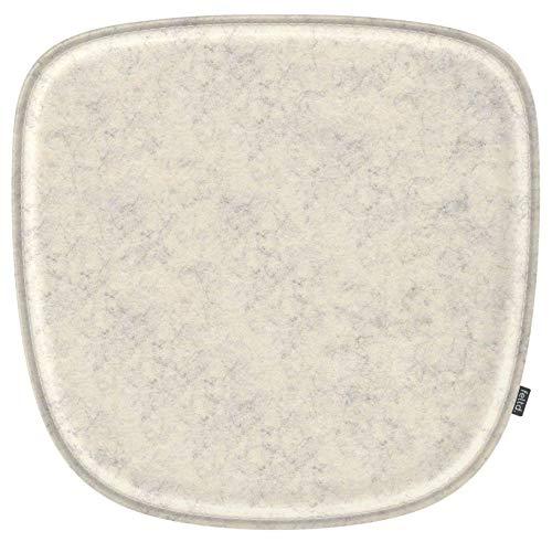 Feltd. Eco Filz Kissen geeignet für Vitra Eames Armchair DAW,DAR,DAX,RAR,DAL - 30 Farben - optional mit Antirutsch und gepolstert! (Natur)