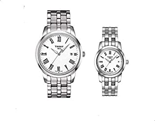 Tissot Pair Classic Dream White Dial Stainless Steel watch t033.210.11.013.10