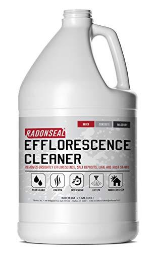 RadonSeal Efflorescence Remover - Cleans Efflorescence, Mortar Haze, Lime Deposits, and Rust Stains....