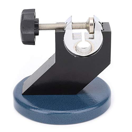 Soporte de pie para micrometro de acero fundido, base redonda para micrófonos exteriores con rosca de tornillo 0-100 mm