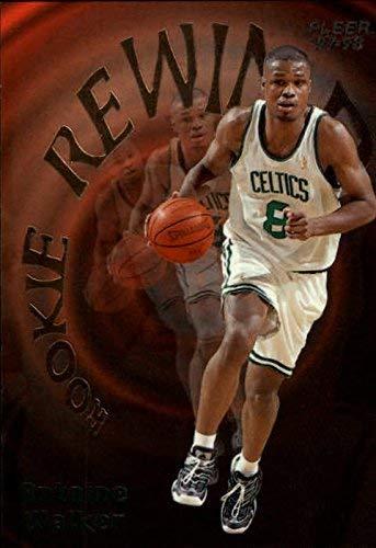 1997-98 Fleer Rookie Rewind Antoine Walker NBA Basketball Trading Card