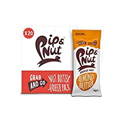 DELICIOUS NATURAL ALMOND BUTTER – made from just almonds and a pinch of sea salt ON-THE- GO SQUEEZE PACK – ideal for a quick hit of natural energy while on the move ABSOLUTELY NO PALM OIL – we never add any palm oil to our nut butters, so they are go...