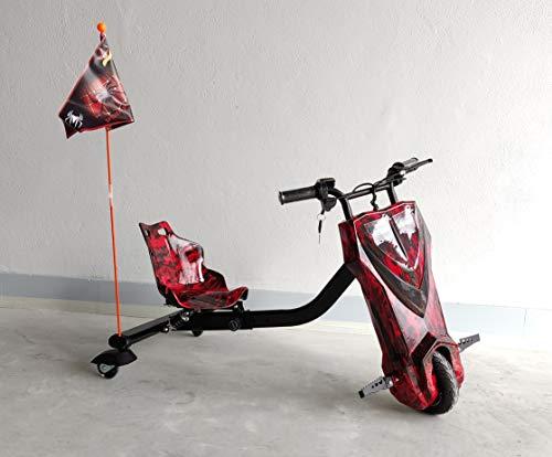 Oviboard.es Derrapador eléctrico Multicolor/Blanco/Rosa - 15km de autonomía (Rojo)