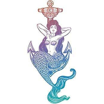 Sticker Molly Mermaid Fluff Decal