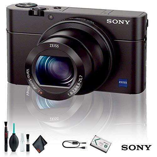 Sony Cyber-Shot DSC-RX100 IV Camera DSCRX100M4/B Starter Kit