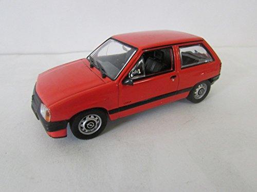 Opel Corsa (2-drzwiowa) voiture de collection à l'échelle 1:43 rouge -réf 190**