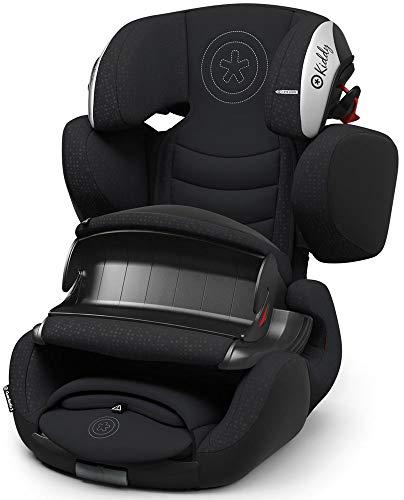 Kiddy Guardianfix 3 Siège auto pour enfant (groupe 1/2/3) (de 9 mois à 12 ans) (env. 9 kg à 36 kg) avec Isofix | Collection 2019 | Midnight Black