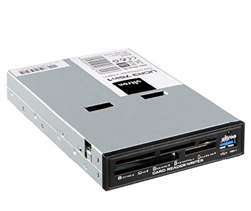 Ultron AG 106745 - Lector de Tarjetas de Memoria (3.5 , USB 3.0), Negro