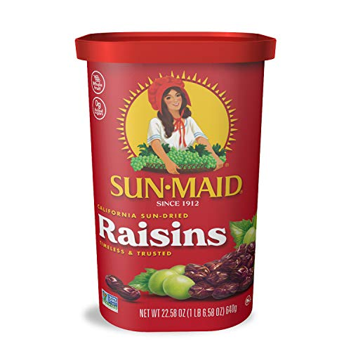 Sun Maid Natural California Raisins , 22.58oz - PACK OF 4