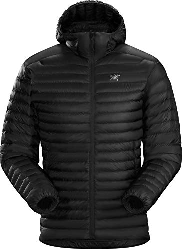 Arc'teryx Cerium SL Hoody Men's | Packable Down Jacket | Black, X-Large