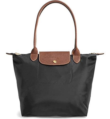 Longchamp 'Medium 'Le Pliage' Tote Shoulder Bag, Black