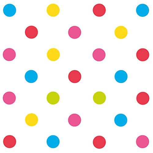 Susy Card 40012520 – Serviette Motif Mix It Dots, 33 x 33 cm