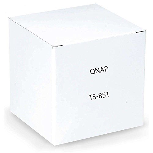 QNAP TS-851 0/8HDD Tower NAS, Nero