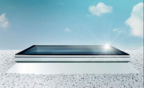 Flachdachfenster SKYLUX IWINDOW2 ™öffenbar Lichtkuppel Dachöffnung 120x120