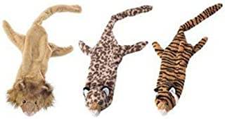 Ethical Mini Skinneeez Jungle Cats 14-Inch Stuffingless Dog Toy, 1 Piece/pack, styles may vary