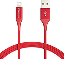 Amazon Basics Double Braided Nylon Lightning to USB Cable - Advanced Collection, MFi Certified Apple iPhone Charger,...