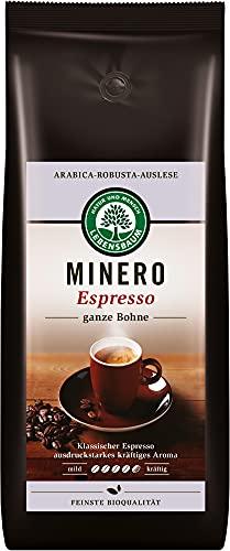 Lebensbaum Bio Minero Espresso, ganze Bohne (6 x 1000 gr)