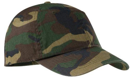 Port Authority Men's Camouflage Cap OSFA Military Camo
