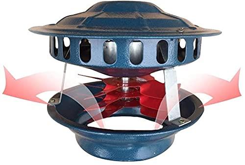 JHKJ Ventilador de Chimenea de 100w Ventilador de Chimenea Extractor de Chimenea Aspirador de Chimenea Ventilador de Estufa de Tiro de Chimenea para Diámetro de Chimenea 13-22cm