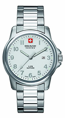 Swiss Military Herren-Armbanduhr Analog Quarz Edelstahl 6-5231.04.001