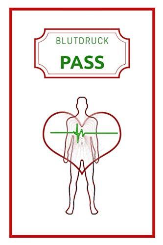 Blutdruck Pass: Version: Mensch | Blutdruck-Tagebuch zum Ausfüllen | Großer Blutdruckpass für mehr als 3000 Messungen | gegliedert nach Zeit, ... zu Weihnachten für die Großeltern | DIN A5