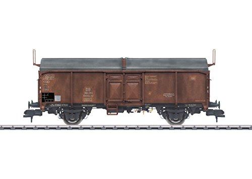 Märklin 58375 – Toit ouvrant Chariot DB, Les véhicules
