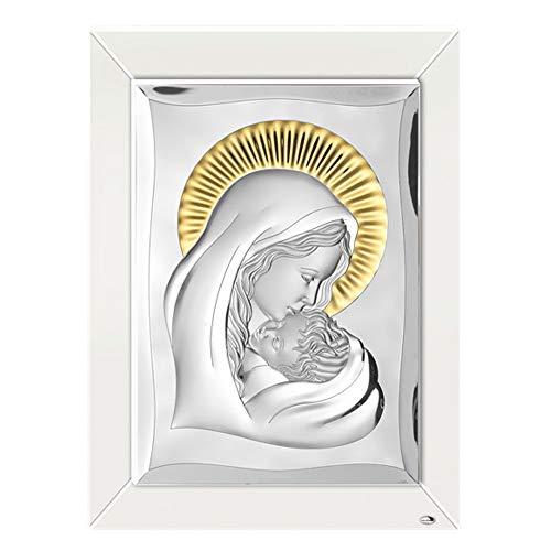 Bild Sacro Madonna mit Kind Silber Bilamin Capoletto 45 x 60 Doppelbett Valenti 18262
