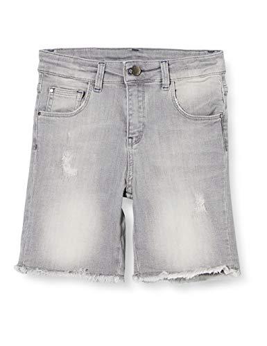 Mexx Jungen 952030 Shorts, Grau (Mid Grey Wash 318522), (Herstellergröße: 122)