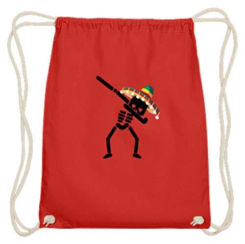 Dabbing Skelett Sombrero Cinco De Mayo Dab Halloween - Bolsa de algodón...