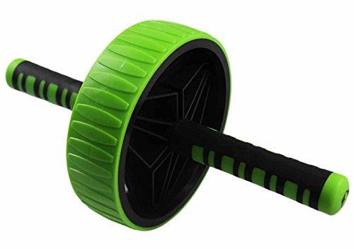 #DoYourFitness AB-Roller/Bauchtrainer/Bauch Roller »TheBodyWheel« / Ideal für Schulter-, Rücken- und Bauchmuskeltraining/zerlegbar/grün