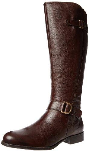 Big Sale Naturalizer Women's Jersey Knee-High Boot,Brown,8 M US